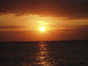 Mormon-coucher-de-soleil-sur-l-eau-