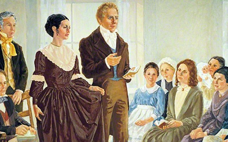 Le femmes mormones s'occupent des pauvres