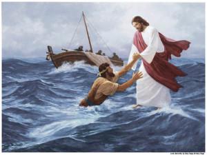 Jesus-Marche-Eau-Mormon