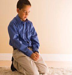 Seigneur et Sauveur : Se mettre à genoux