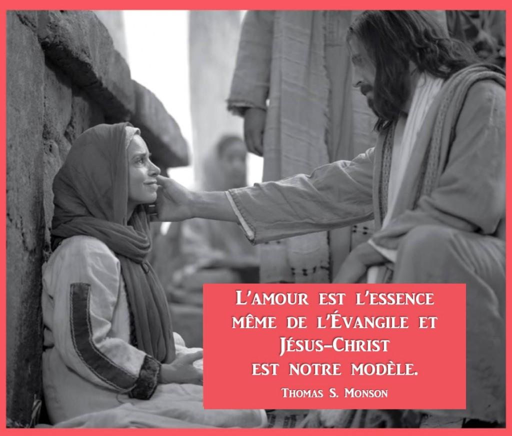 Christ est amour