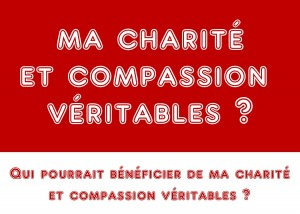 compassion et charite veritable