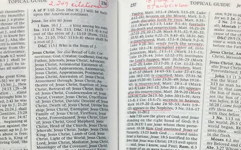 Président Nelson étude des écritures